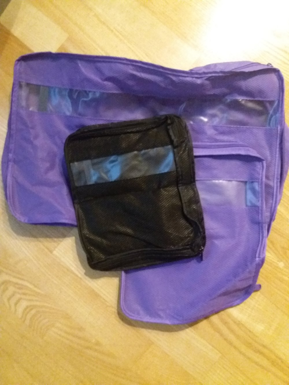 same goes with these packing cubes. these are extremely handy in clothing storage and keep them in order.