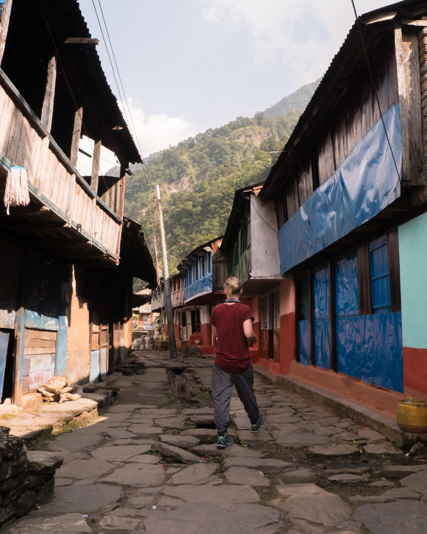 Streets in Bhulbhule.