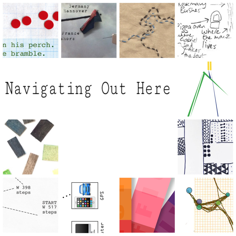 Artist maps by 428collective, book produced by Alice