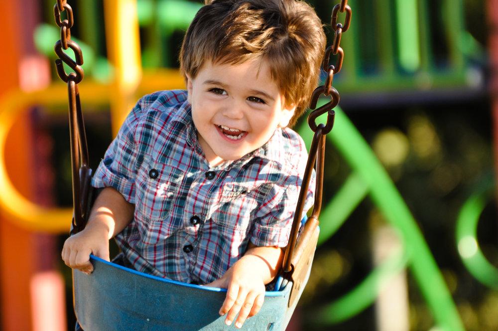 Kiddo on a swing woo.jpg