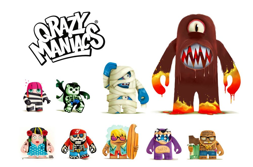 QrazyManiacs - figurines design