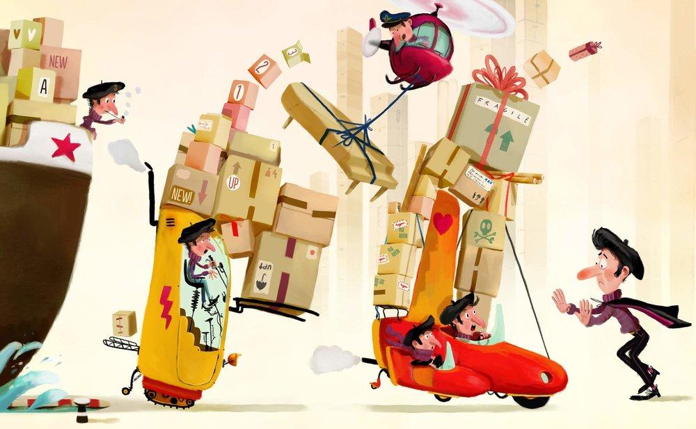 Stop! Genoeg! | Meneertje Meer |Mark Haayema &Job van Gelder ©