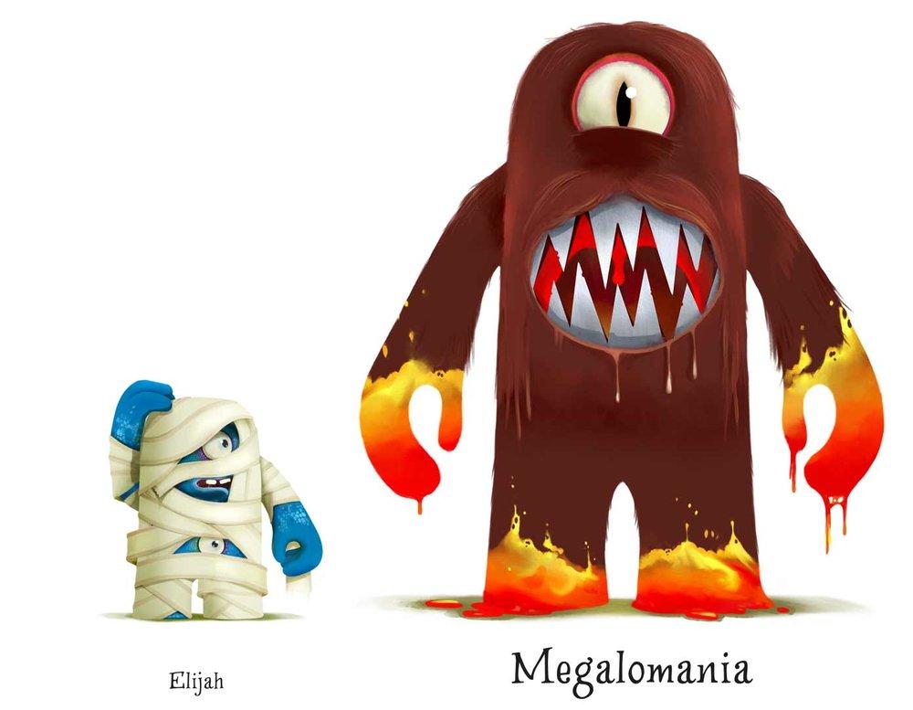 Character design figurines |Studio Monnikenwerk ©
