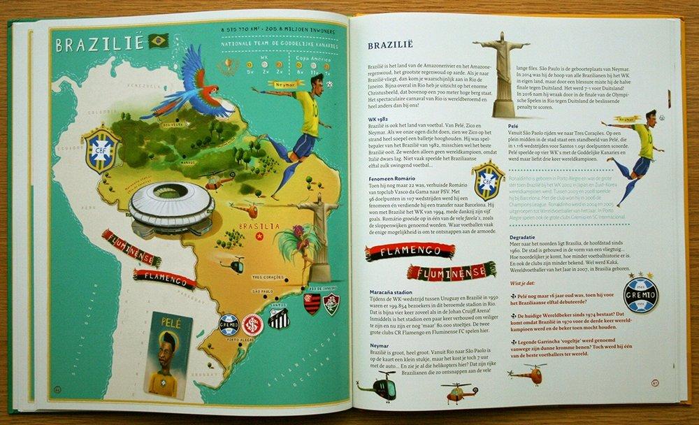 Kleurrijke atlas met honderden tekeningen en weetjes!