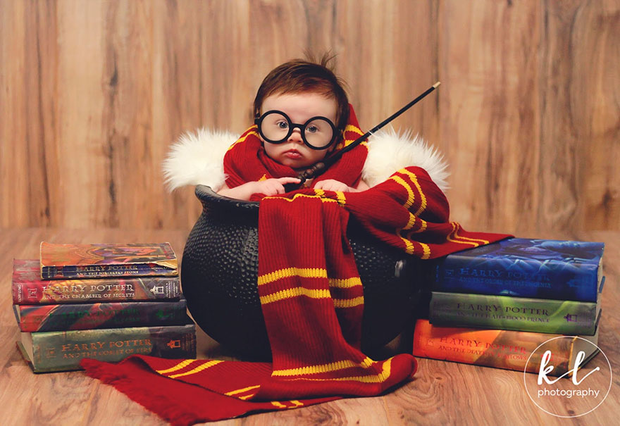 Meet Harry Potter Jr. Isn't he adorable?