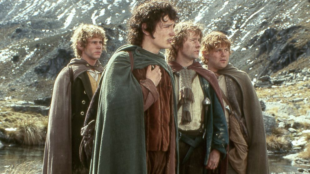 Frodo Baggins and his gang were giants in their own right!