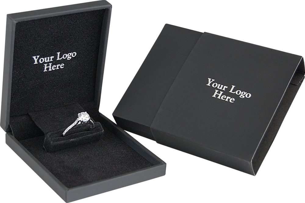 Slim Engagement Ring Box