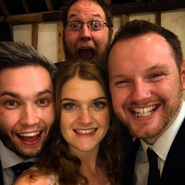 Forgot to share this from the week! Congratulations and thank you @gemmafiona05 and Andy Wilkinson for inviting us to your wedding reception!