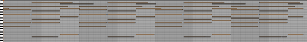 This is what I was left with after I converted harmony to MIDI with ableton.