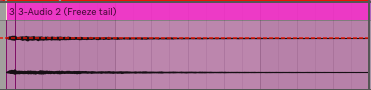 this is that chord chunk after it has been frozen and flatten