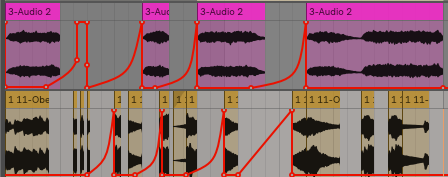 Here is a quick example of how you could chop up that rendered audio and making it work in your prexisting project.