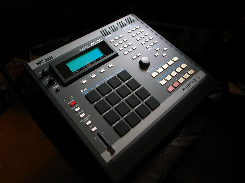 MPC 3000. A machine made iconic by J Dilla and other legendary producers of the era.