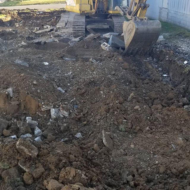 Iron pony demolition
