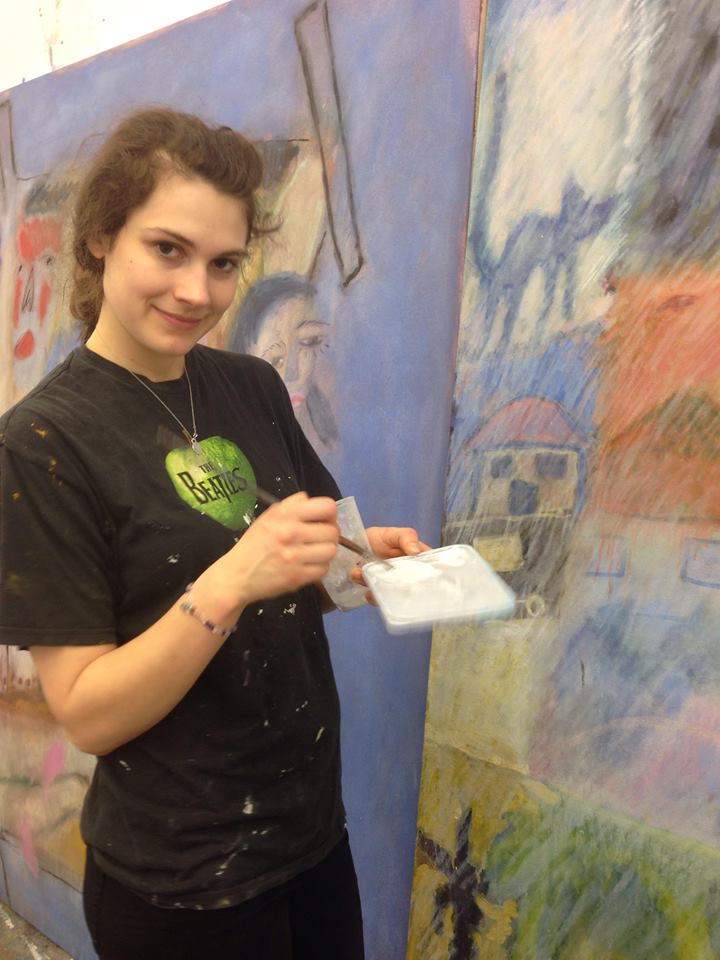 Hatty, 23, Painting Student - By Orla Loughran Hayes