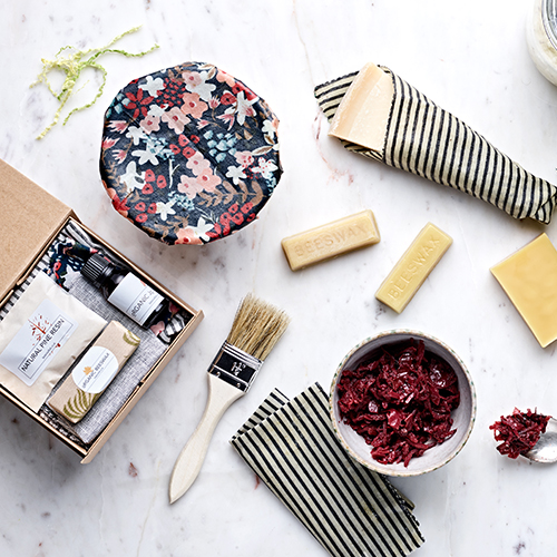 BoTANICAL FoLK — DIY ORGANIC BEESWAX WRAPS KIT