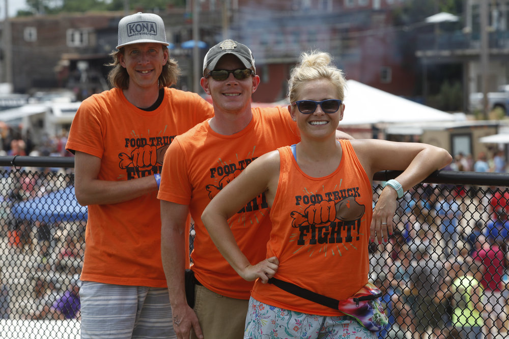 Event team: Robert Day (Co-Owner/Operator), Bobby Bunch (Co-Owner/Operator), Jacquelyn O'Briant (Volunteer Coordinator)