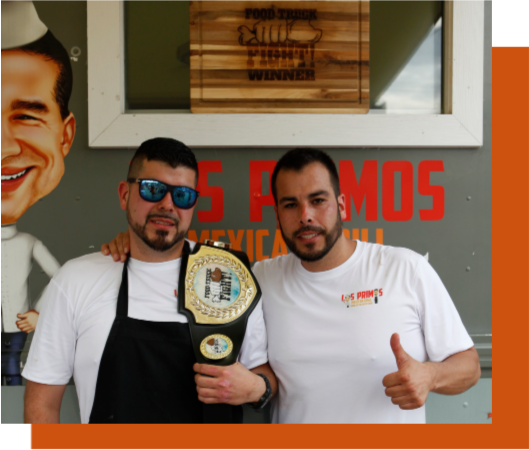The Trucks - Find out who will be competing against two-time champion Los Primos Mexican Grill for this year's title of Food Truck Fight™ Champion!