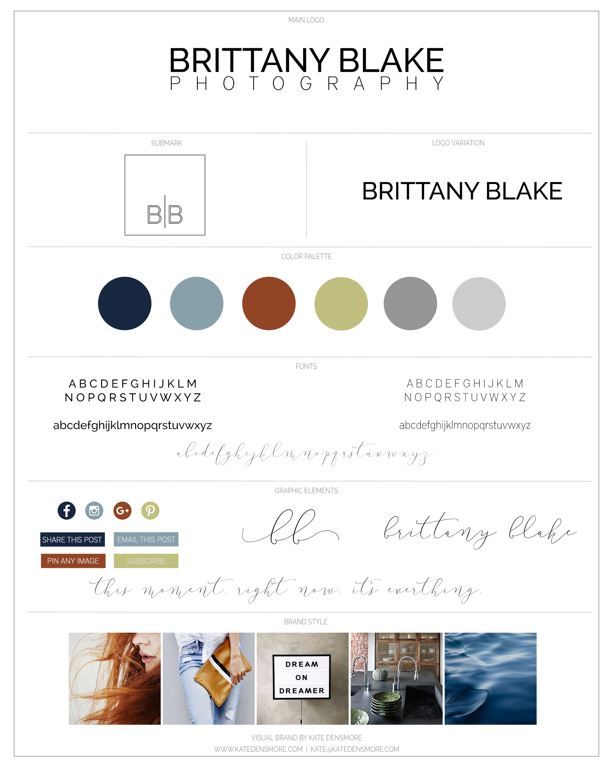 BrittanyBlake_BrandingBoard
