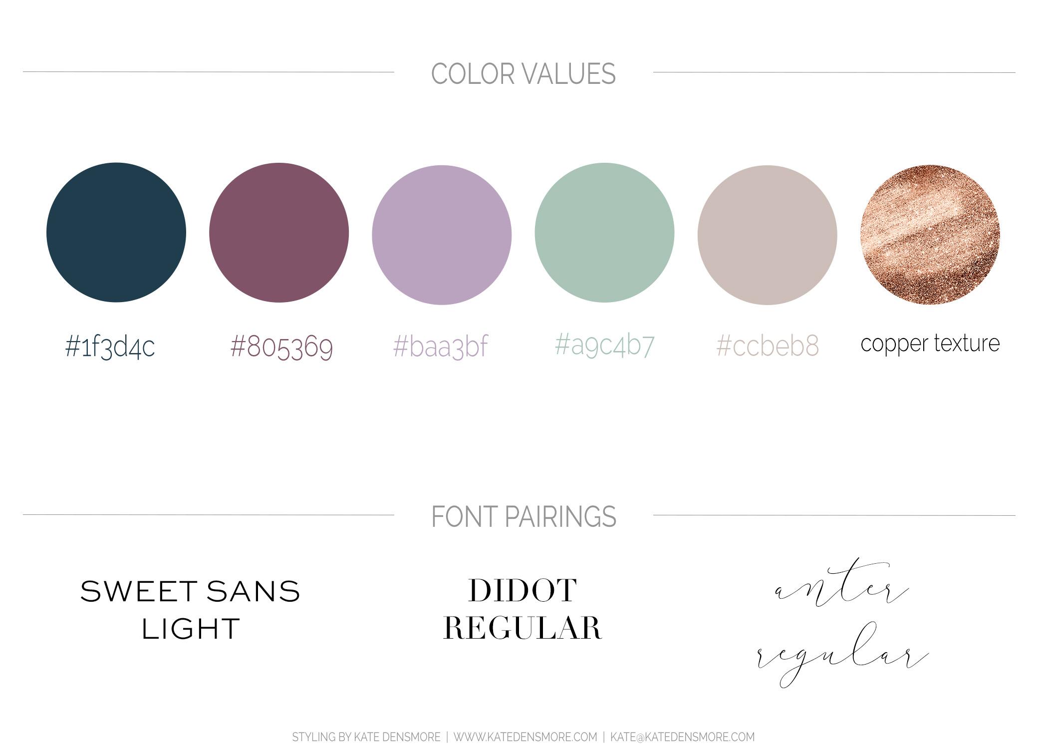 AmyKolo_ColorValue&FontPairings