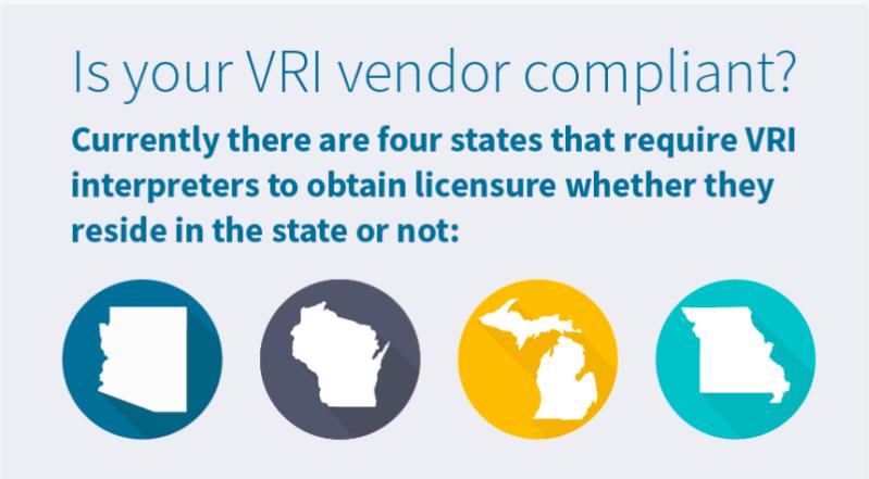"Credit: Indemand Interpreting ""Interpreter Compliance for VRI"""