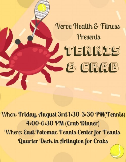 Respond to Event  Here !  For more information, please email    mm@vervehealthandfitness.com