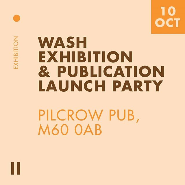 Got no time to lose! On with advertising the first event! @wash.collective (founded by @leilalilacc) is launching their first issue on 10th October at @thepilcrowpub at @sadlersyard! Early arrivers may be able to grab themselves a free @cloudwaterbrew thanks to their sponsorship! The exhibition come launch party will feature work from local artists and photographers, as well as international contributors! @leilalilacc has already sold out of issue one, however Manchester's resident Forbes will be playing an electronic mix of Boogie, Disco and Italo! So head down to check out the project, meet other creatives and have a little dance!