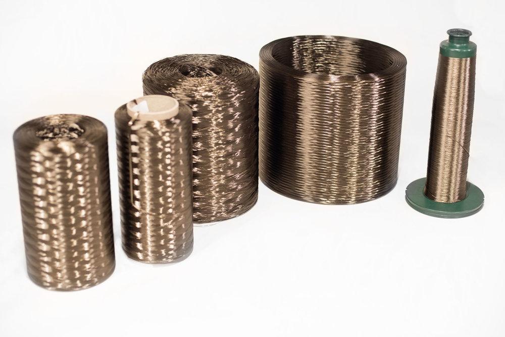 Loose basalt fiber material