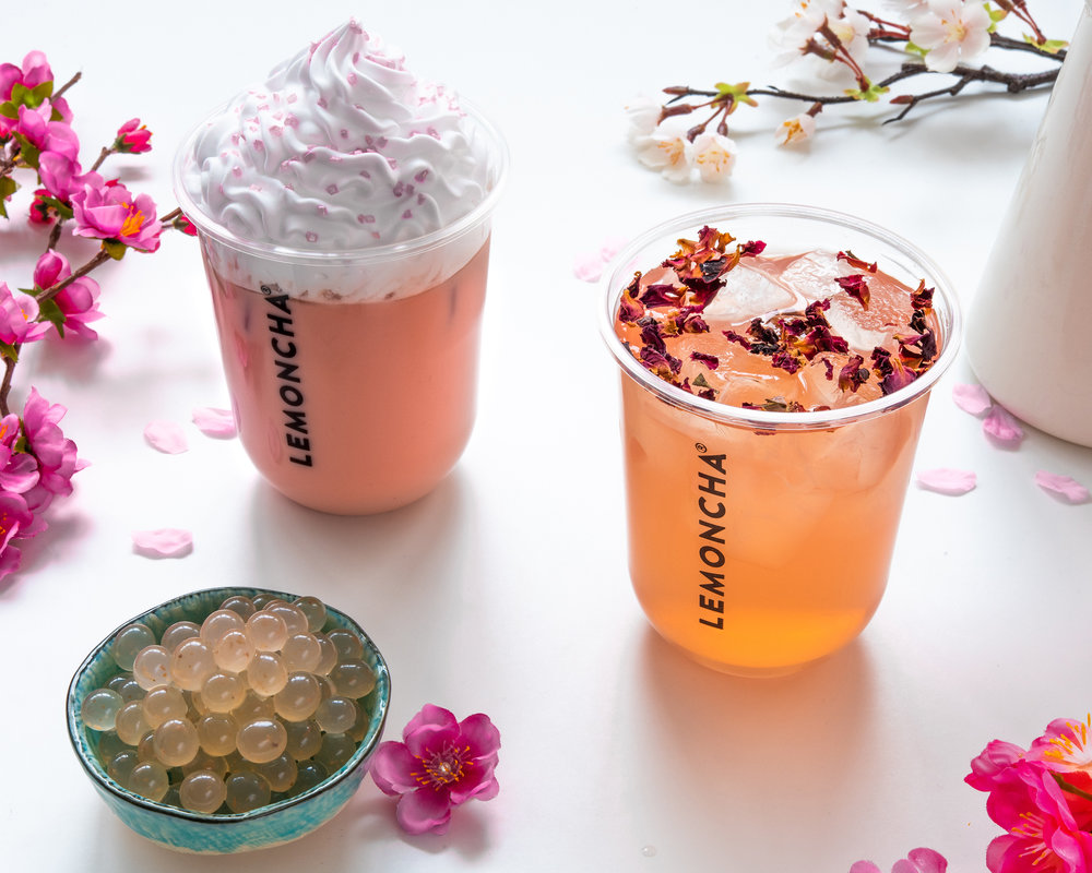 Lemoncha Limited Hanami Drinks 2019