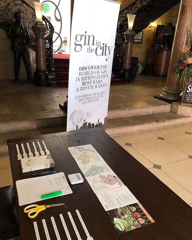#day2 #gininthecity #ginweekend wristbands await you can still purchase at our collection points @hotelduvin #malmaisonbirmingham @lokiwine in #edgbaston what does the weather hold instore ?