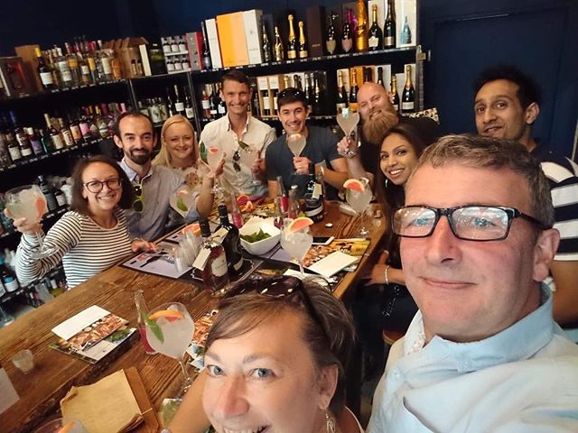Looks like a happy group of #ginfans enjoying @cotswolds_distillery #ginmasterclass this afternoon @lokiwine @gwabirmingham you can catch Rob at 5pm at #lokiwine #edgbaston for part 2 remember to tag #gininthecity #ginweekend to win a special prize