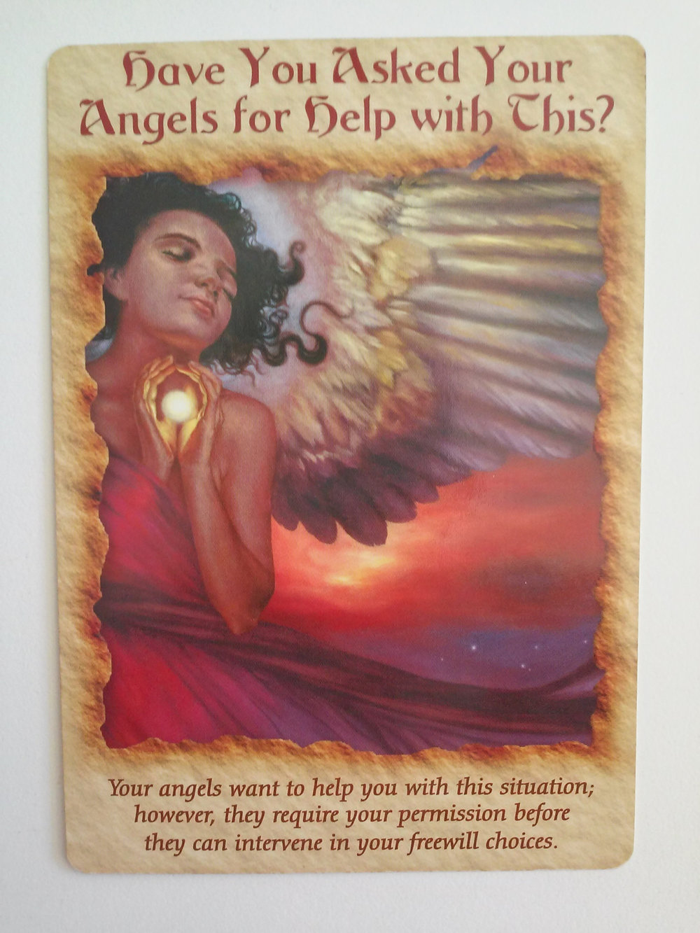 Angel Therapy Oracle Cards fra Doreen Virtue