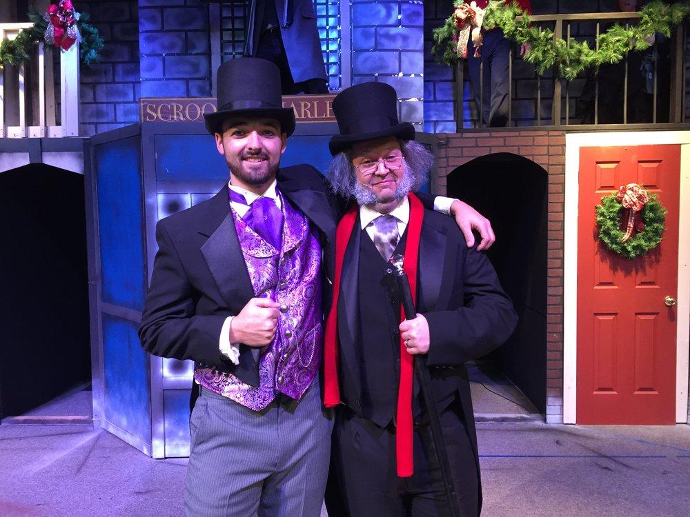 Scrooge and Fred 2017.jpg