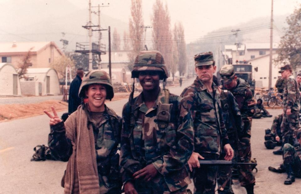 Memphis Barbree, Specialist, NBC & Training NCO, Camp Carroll, South Korea Fall 1989
