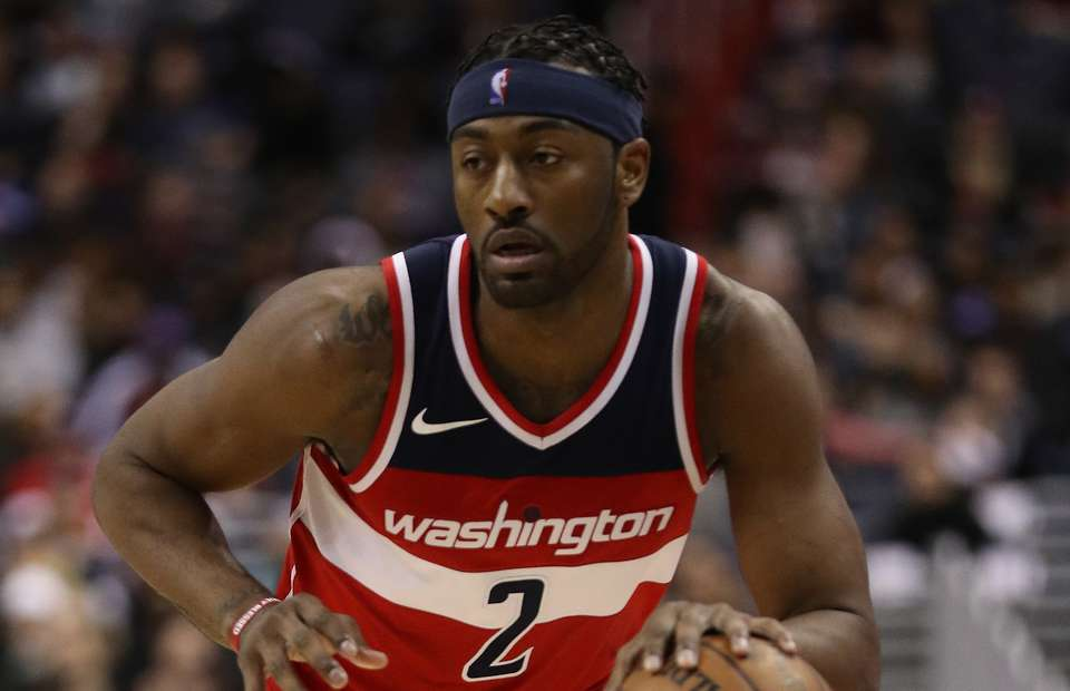 A new look John Wall is ready to build on his first game back against the Houston Rockets. Photo taken on Givemesport.com from his first game back from injury.