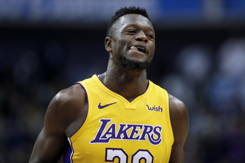 Julius Randle has a tough task, but a big role and decreased price makes him a nice pick tonight. Photo taken from Bleacher Report