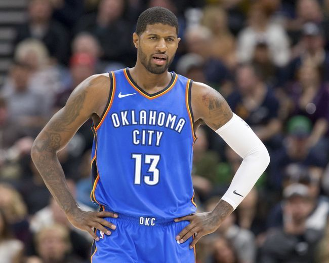 Paul George will likely be as locked in tonight as he appeared in this photo which was taken from Thunder Digest.