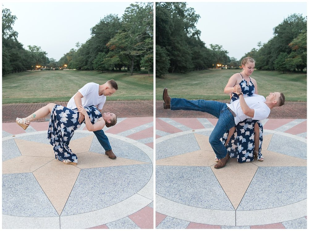 Marines VMFA Engagement Session | MJ Mendoza Photography