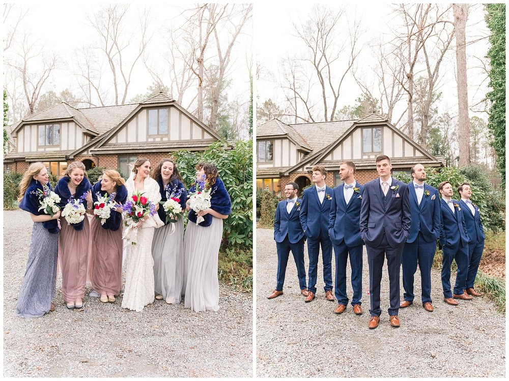 This bridal party was literally a DREAM!