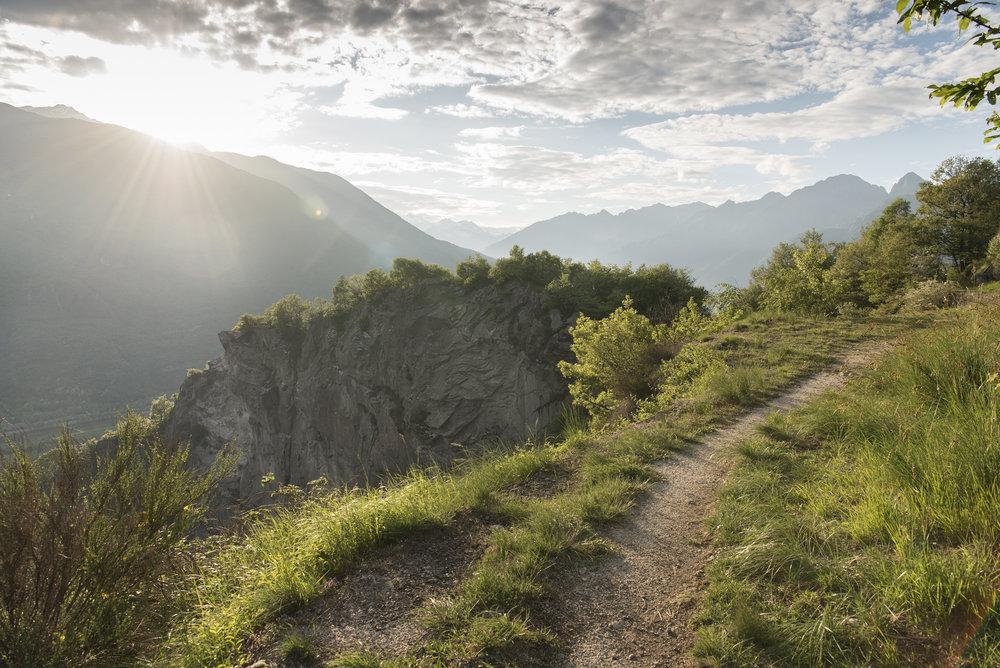 Panorama dal Montorfano
