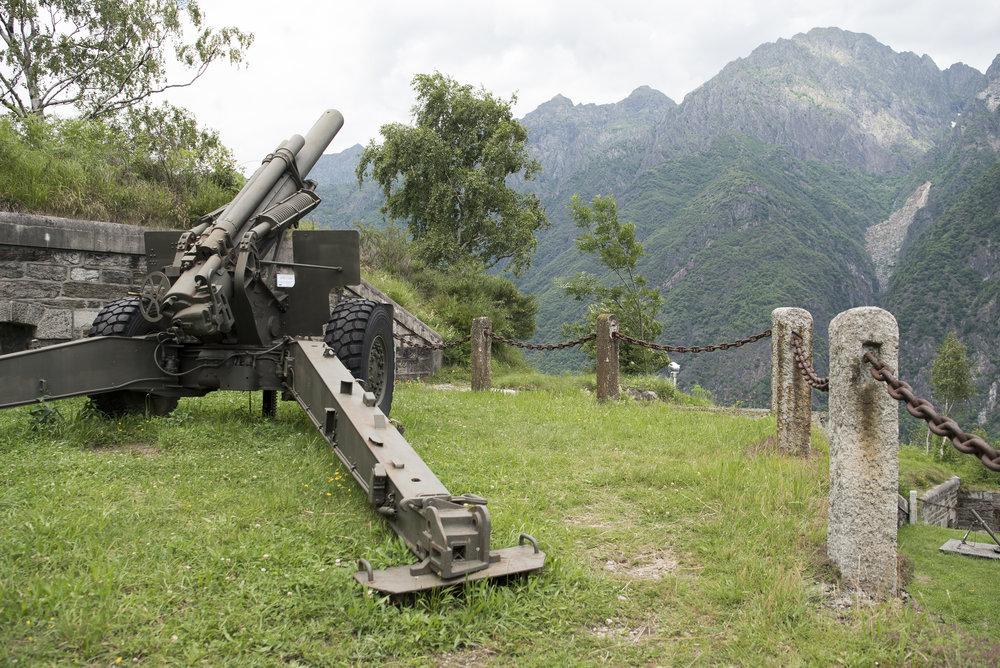 Le postazioni militari di Ornavasso