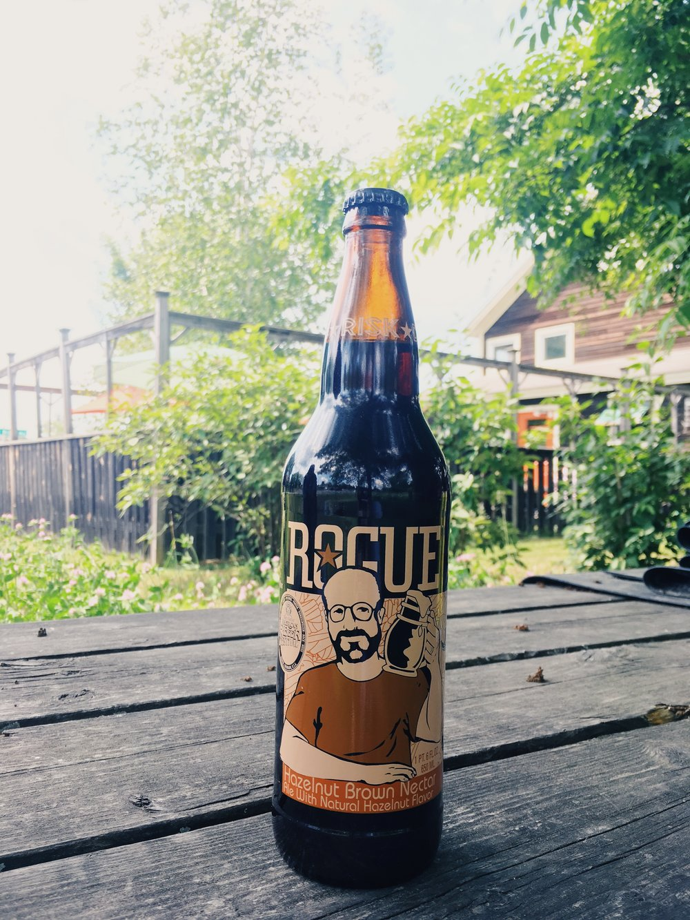 For the beer lover - This delicious favorite Rogue Hazelnut Ale features 'hazelnut, spring water and faint citrus notes up front; with light roast coffee and acorn notes on the finish' in a combination that's sure to comfort and inspire!