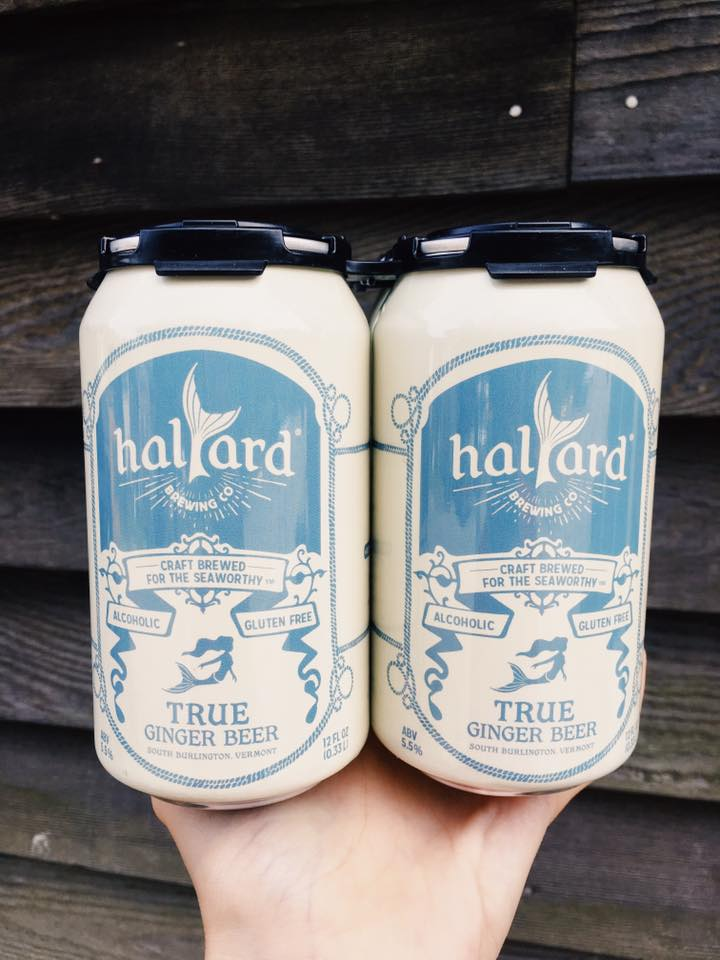 For the seaworthy Captain - Halyard Brewing's true ginger beer from Burlington features 'crisp and easy drinking, lightly hopped to provide notes of citrus and pine to the bright ginger base' and is perfect for an afternoon picnic or boating with Pops!