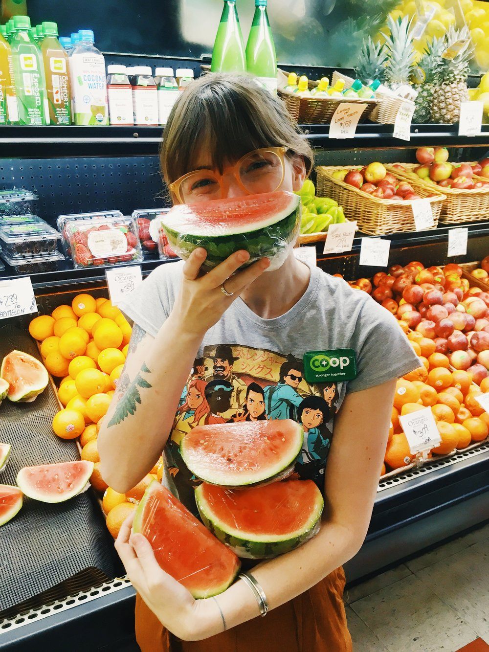 lulu and the watermelon.JPG