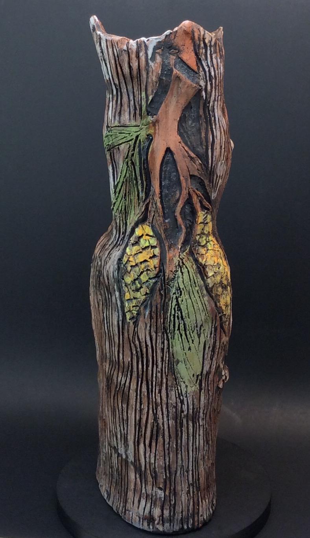 Ceramic Vase - Sculptural