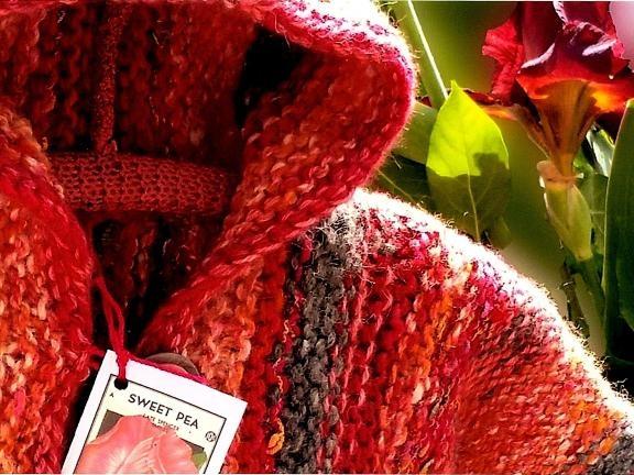 Hand Knitted Children's Jacket
