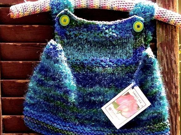 Hand Knitted Girl's Jumper