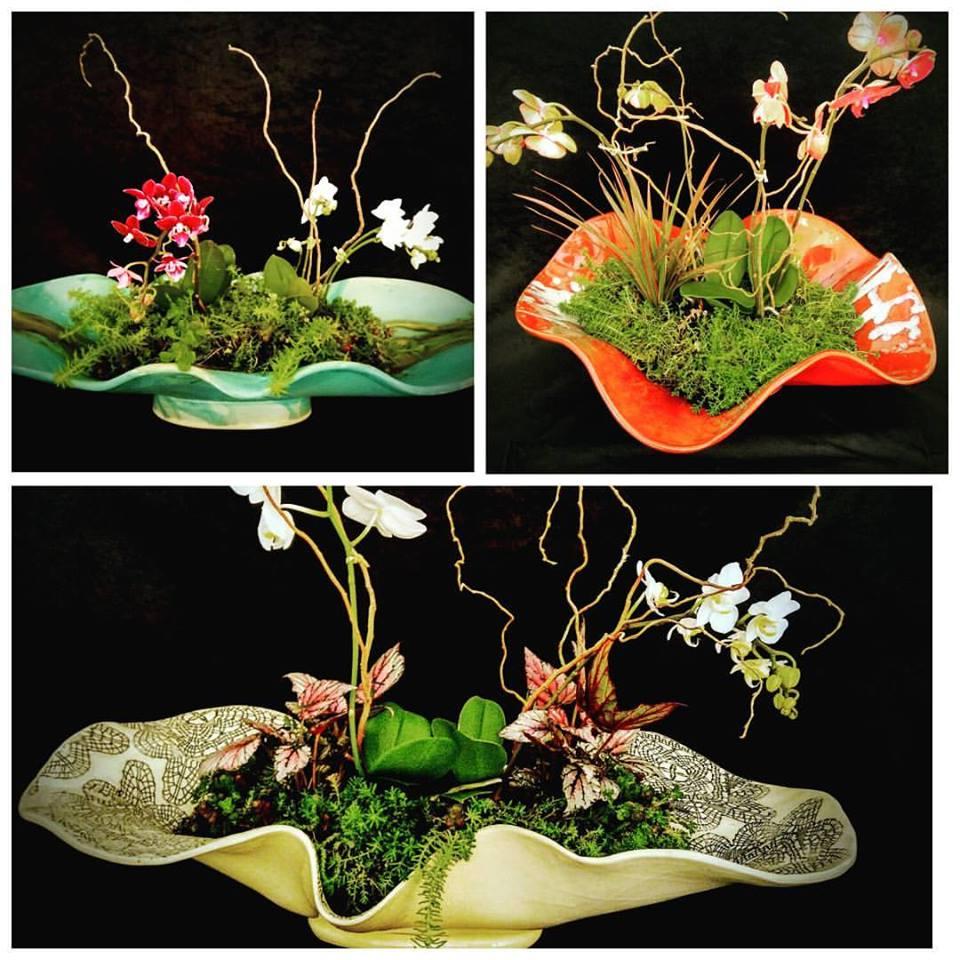 Freeform Bowl with floral arrangements cathey bolton.jpg