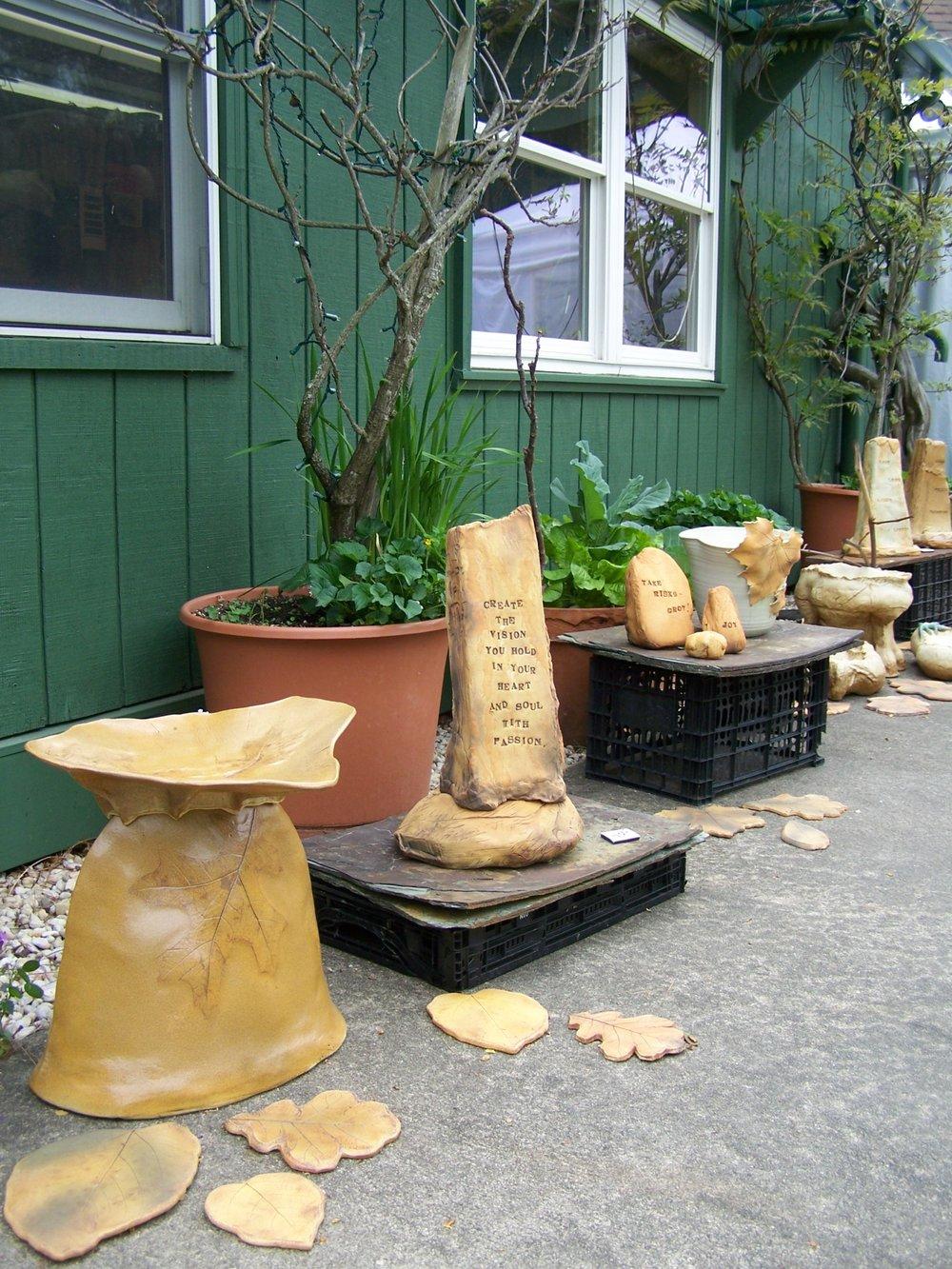 Kaaren StonerDesign Studio - One-of-a-Kind clay creationsfor the home and garden
