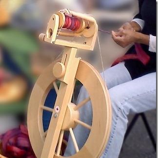 LORIE DEUTSCHMANN spinning at Stop #4/5/6 in Iron Duff
