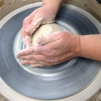 ANN SUGGS, StoneHouse Pottery in Balsam, Stop #13